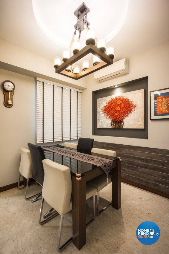 Contemporary Design - Dining Room - Condominium - Design by Flo Design Pte Ltd