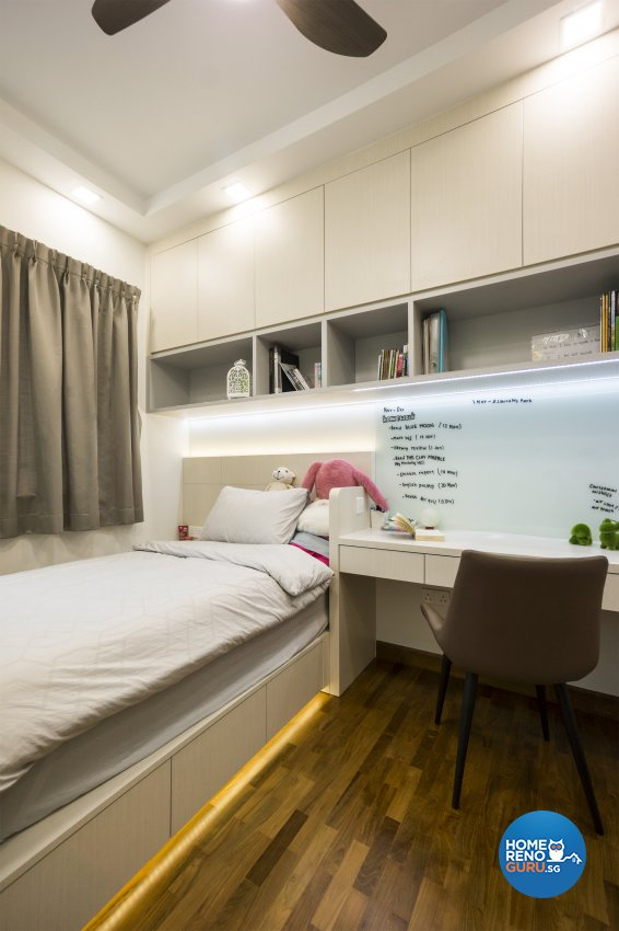 Contemporary, Modern Design - Bedroom - Condominium - Design by Flo Design Pte Ltd