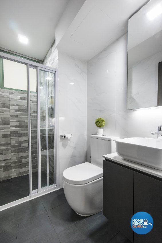 Contemporary, Modern Design - Bathroom - Condominium - Design by Flo Design Pte Ltd