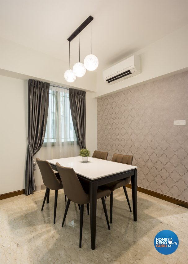Contemporary, Modern Design - Dining Room - Condominium - Design by Flo Design Pte Ltd