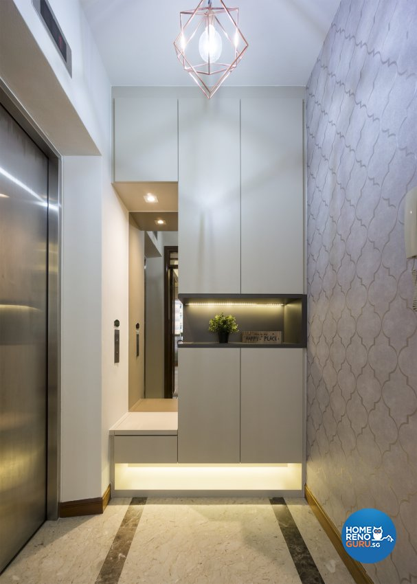 Contemporary, Modern Design - Living Room - Condominium - Design by Flo Design Pte Ltd