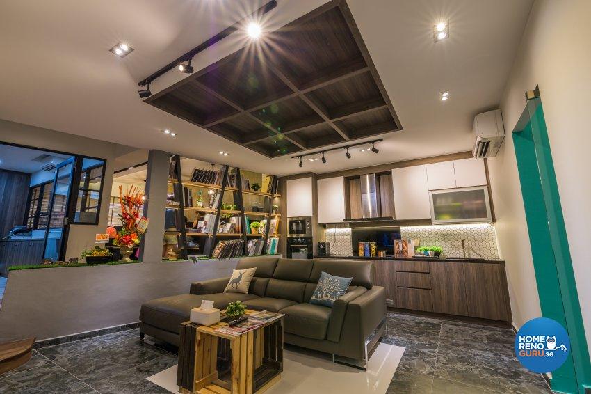 Contemporary, Modern, Scandinavian Design - Living Room - Office - Design by Flo Design Pte Ltd