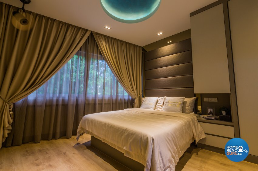 Contemporary, Modern, Scandinavian Design - Bedroom - Office - Design by Flo Design Pte Ltd