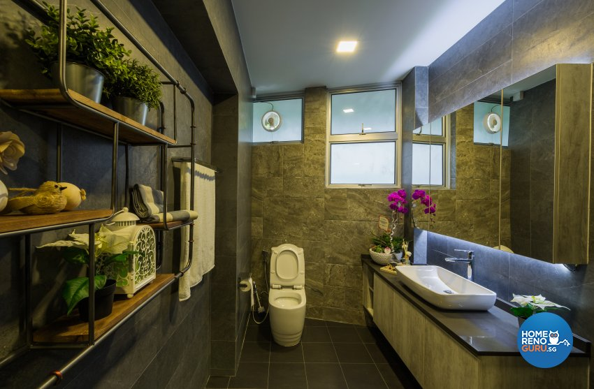 Contemporary, Modern, Scandinavian Design - Bathroom - Office - Design by Flo Design Pte Ltd