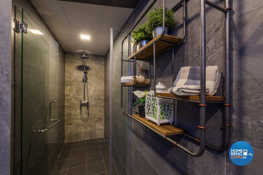 Contemporary, Modern, Scandinavian Design - Bathroom - Office - Design by Flo Design Pte Ltd