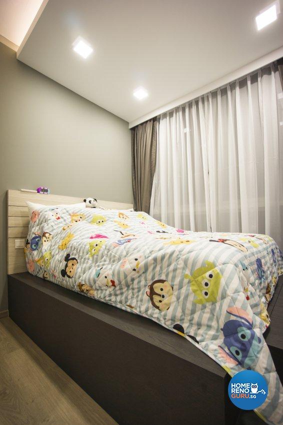 Contemporary, Modern, Scandinavian Design - Bedroom - Condominium - Design by Flo Design Pte Ltd