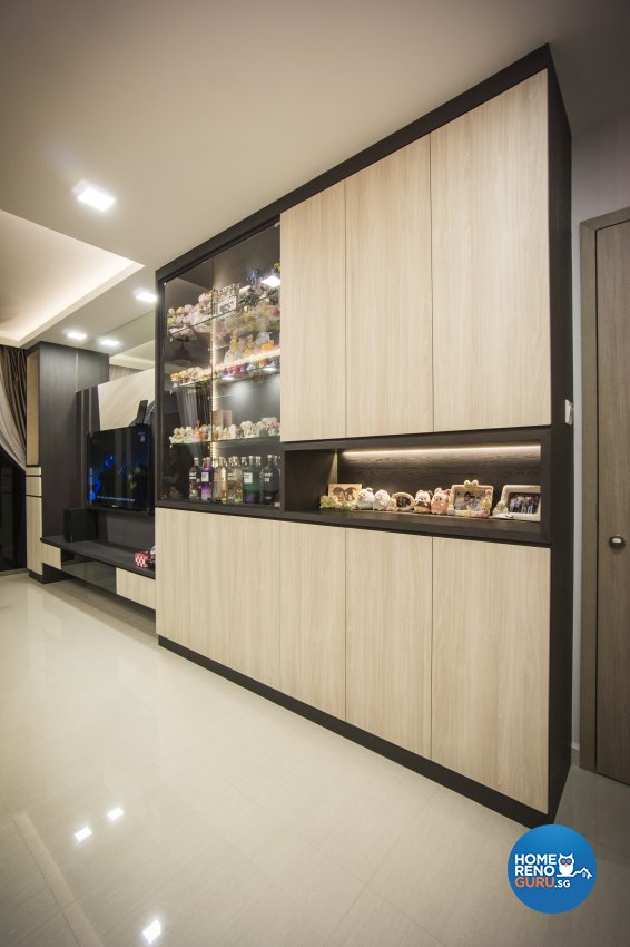 Contemporary, Modern, Scandinavian Design - Living Room - Condominium - Design by Flo Design Pte Ltd