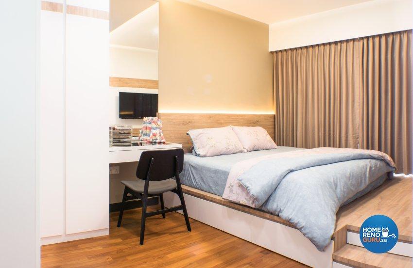 Scandinavian Design - Bedroom - HDB 4 Room - Design by Flo Design Pte Ltd