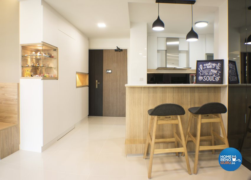 Scandinavian Design - Dining Room - HDB 4 Room - Design by Flo Design Pte Ltd
