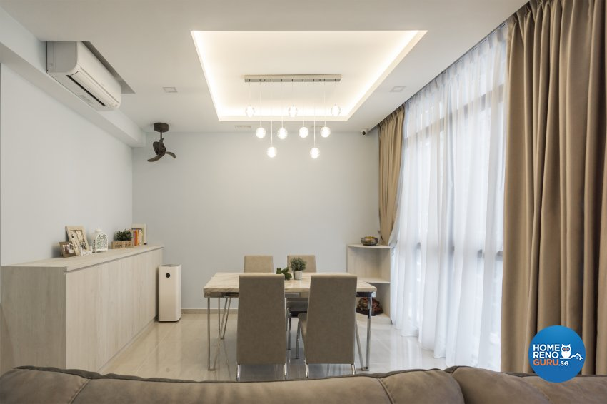 Contemporary, Minimalist, Modern Design - Dining Room - Condominium - Design by Flo Design Pte Ltd