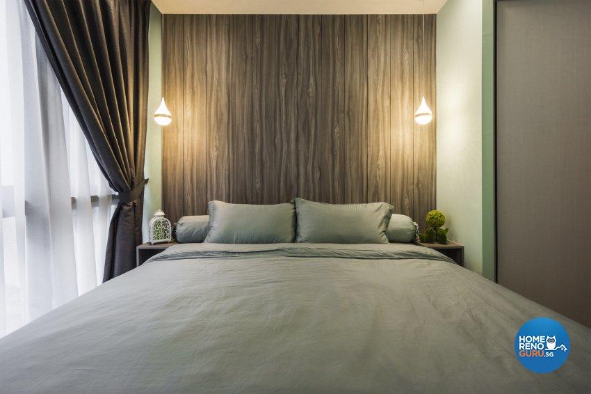 Contemporary, Minimalist, Modern Design - Bedroom - Condominium - Design by Flo Design Pte Ltd