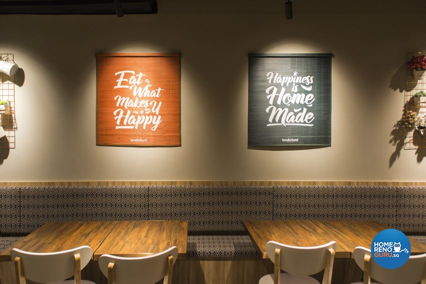 Country, Modern, Rustic Design - Commercial - F&B - Design by Flo Design Pte Ltd