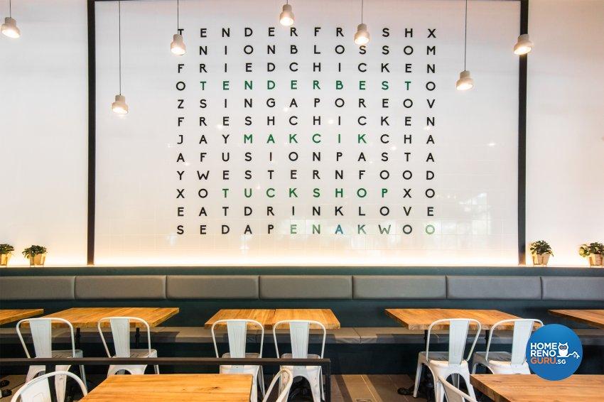 Industrial, Rustic, Scandinavian Design - Commercial - F&B - Design by Flo Design Pte Ltd