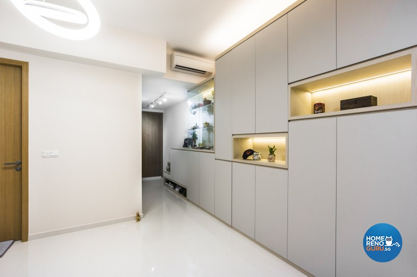 Contemporary, Minimalist, Modern Design - Living Room - Condominium - Design by Flo Design Pte Ltd