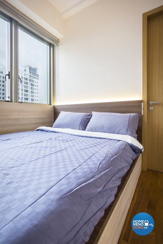 Contemporary, Minimalist, Modern Design - Bedroom - Condominium - Design by Flo Design Pte Ltd