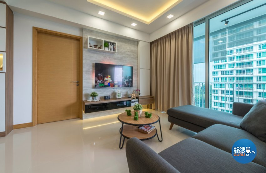 Contemporary, Modern, Scandinavian Design - Living Room - Condominium - Design by Flo Design Pte Ltd