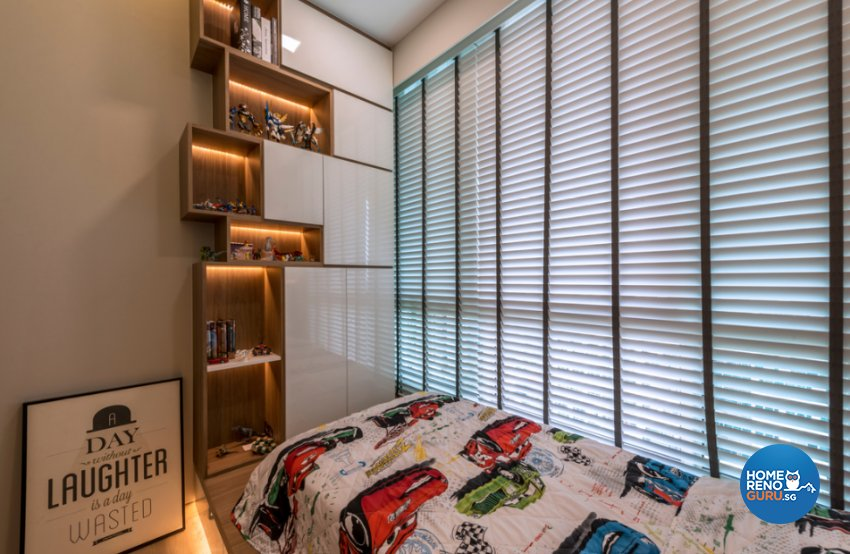 Contemporary, Modern, Scandinavian Design - Bedroom - Condominium - Design by Flo Design Pte Ltd