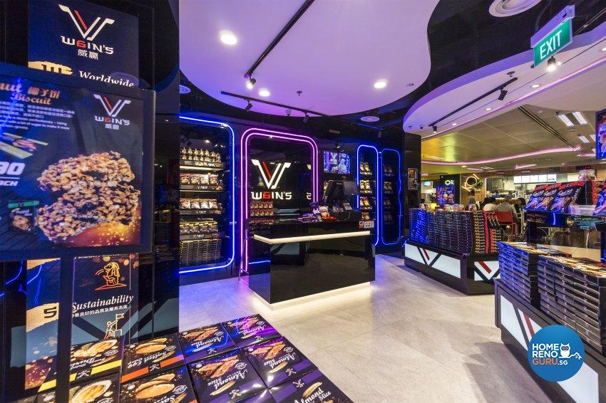 Contemporary, Modern Design - Commercial - Retail - Design by Flo Design Pte Ltd