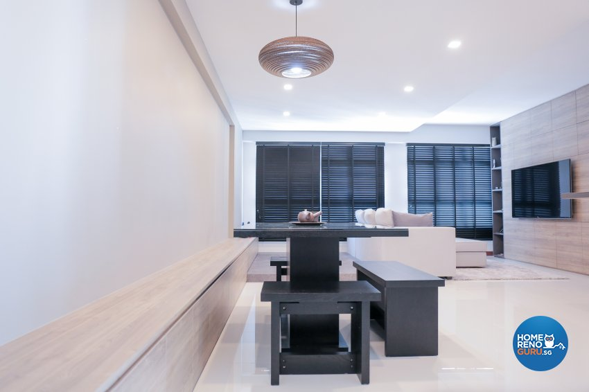 Minimalist Design - Dining Room - HDB 5 Room - Design by Forefront Interior