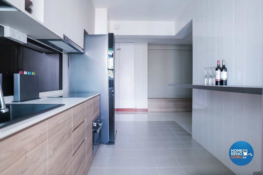 Minimalist Design - Kitchen - HDB 5 Room - Design by Forefront Interior