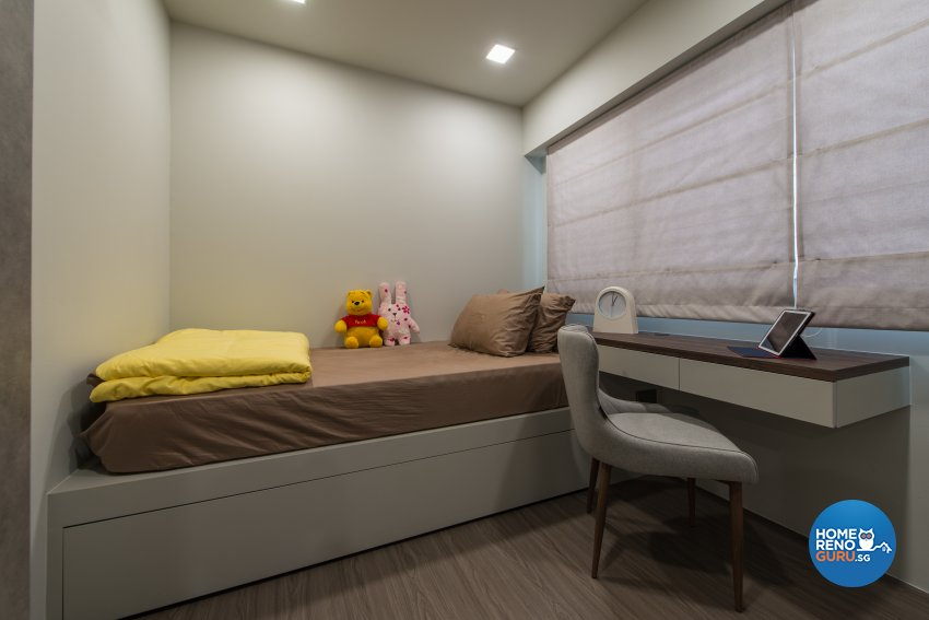 Minimalist Design - Bedroom - HDB Executive Apartment - Design by Forefront Interior