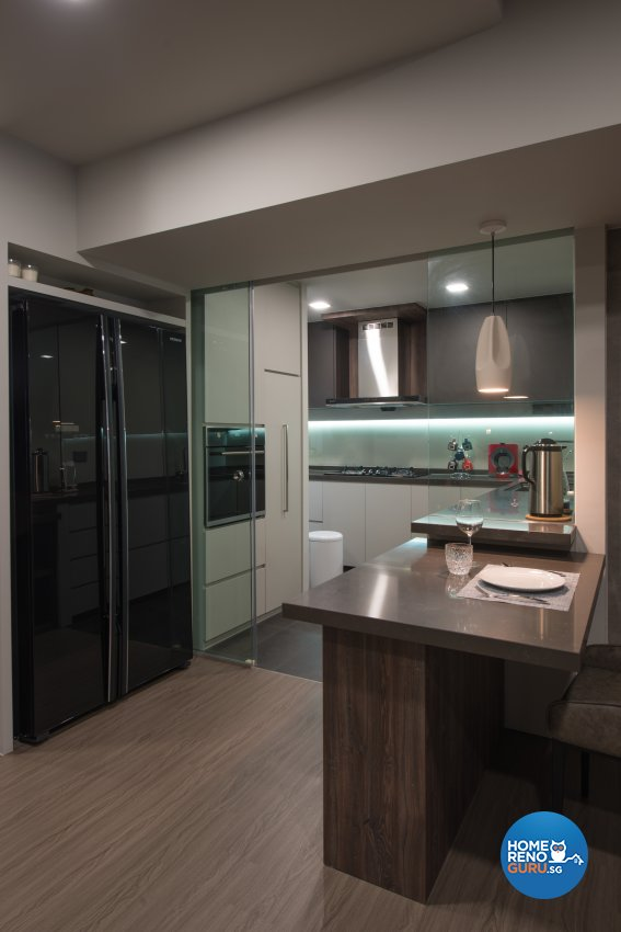 Minimalist Design - Kitchen - HDB Executive Apartment - Design by Forefront Interior