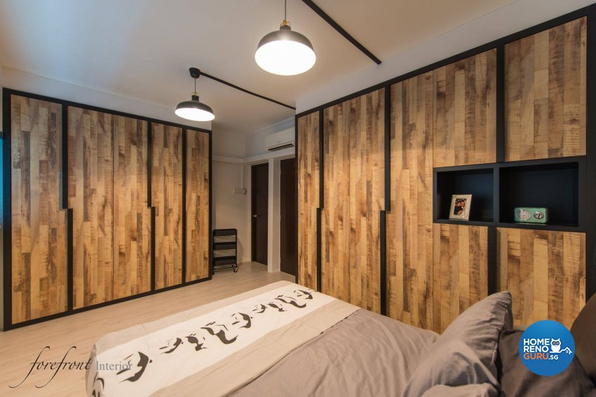 Singapore interior design gallery design details homerenoguru Master bedroom in jurong east
