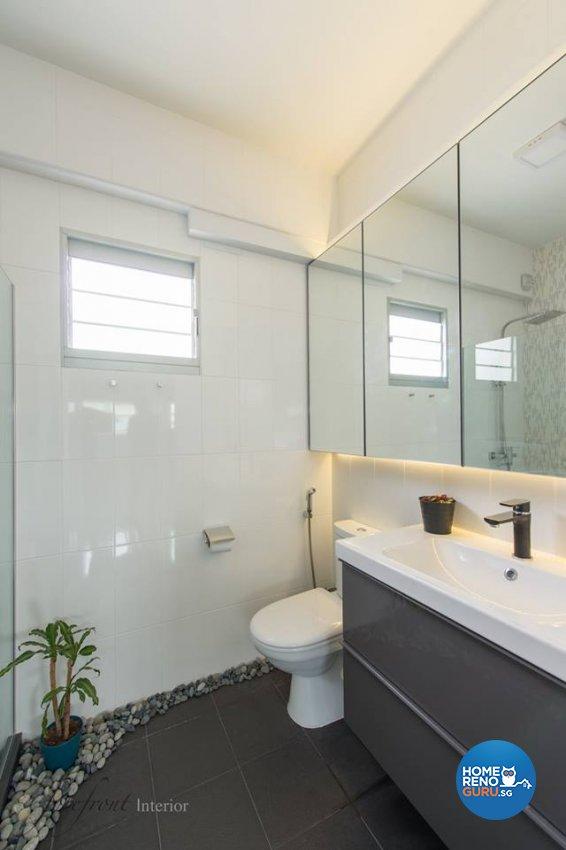 Minimalist Design - Bathroom - HDB 5 Room - Design by Forefront Interior