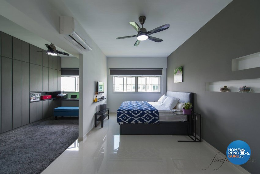 Minimalist Design - Bedroom - HDB 5 Room - Design by Forefront Interior