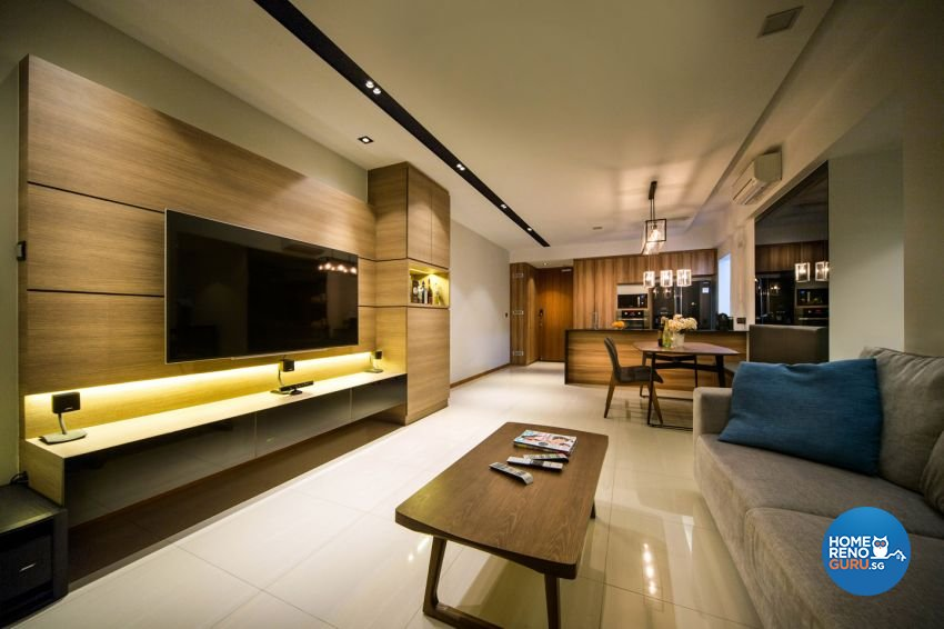 Contemporary, Modern Design - Living Room - Condominium - Design by form & space pte ltd