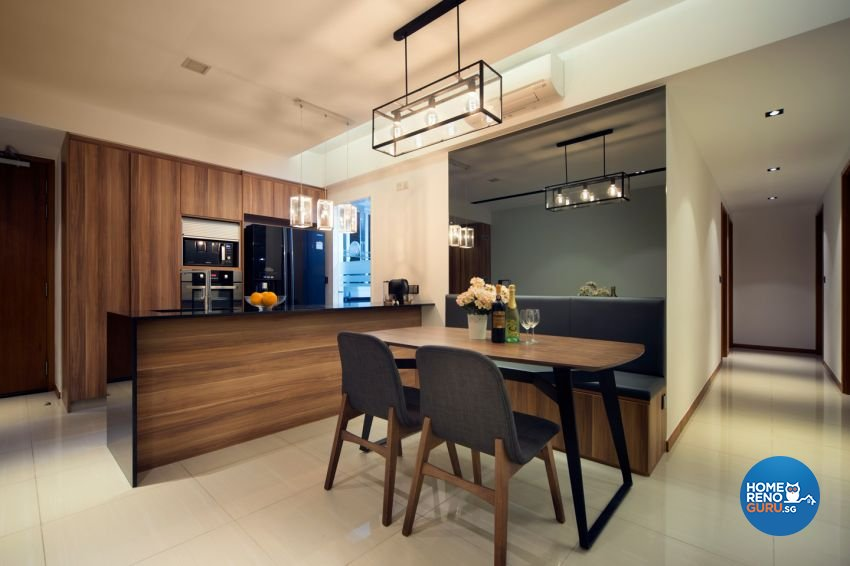 Contemporary, Modern Design - Dining Room - Condominium - Design by form & space pte ltd