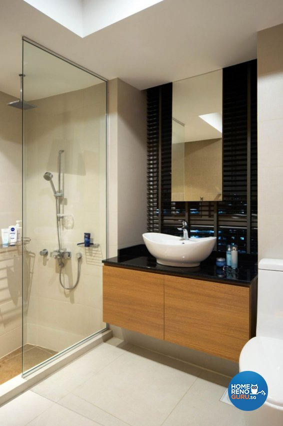 Contemporary, Modern Design - Bathroom - Condominium - Design by form & space pte ltd