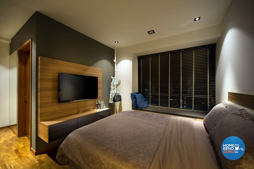 Contemporary, Modern Design - Bedroom - Condominium - Design by form & space pte ltd