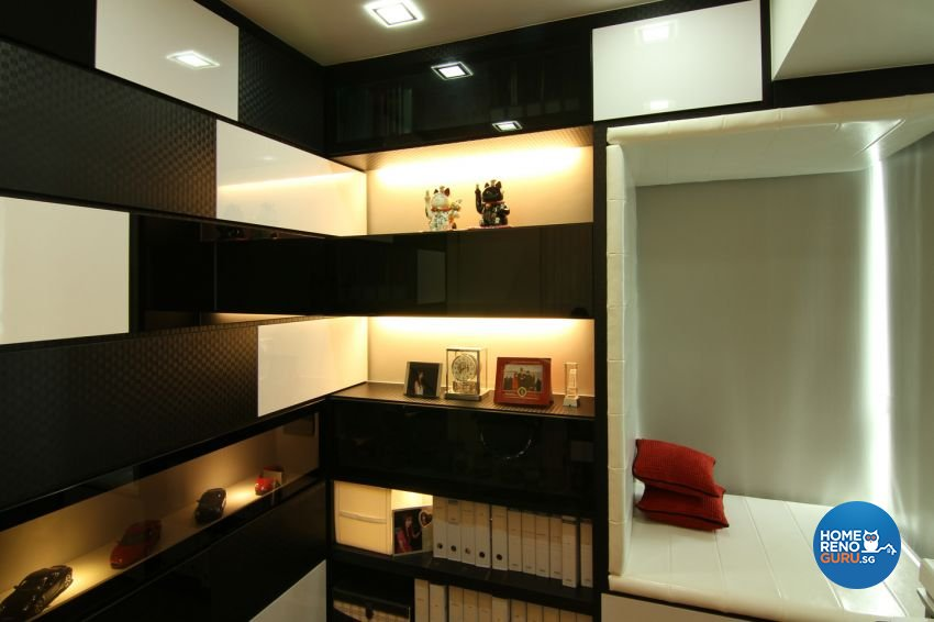 Contemporary, Modern Design - Study Room - Condominium - Design by form & space pte ltd