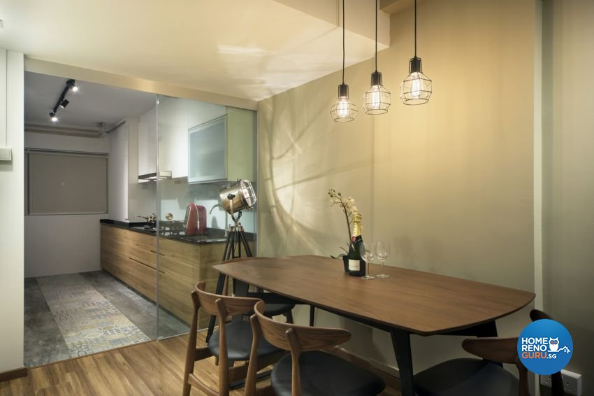 Contemporary, Scandinavian Design - Dining Room - HDB 3 Room - Design by form & space pte ltd