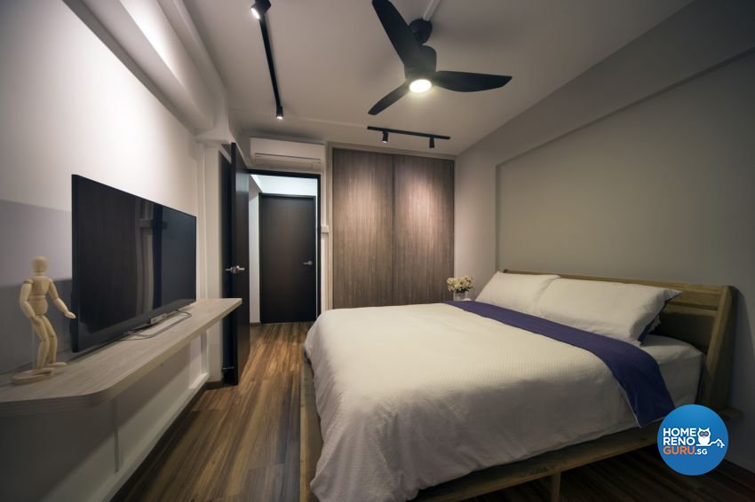 Contemporary, Scandinavian Design - Bedroom - HDB 3 Room - Design by form & space pte ltd