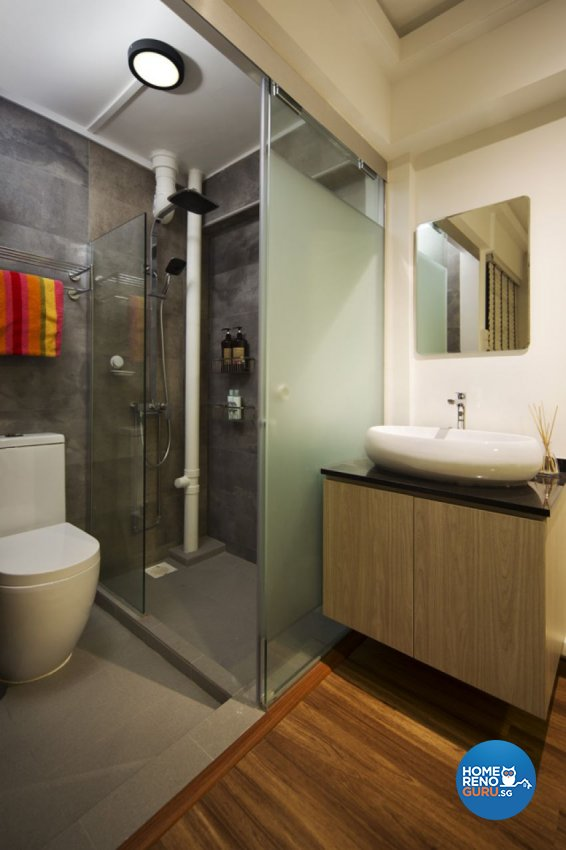 Contemporary, Scandinavian Design - Bathroom - HDB 3 Room - Design by form & space pte ltd