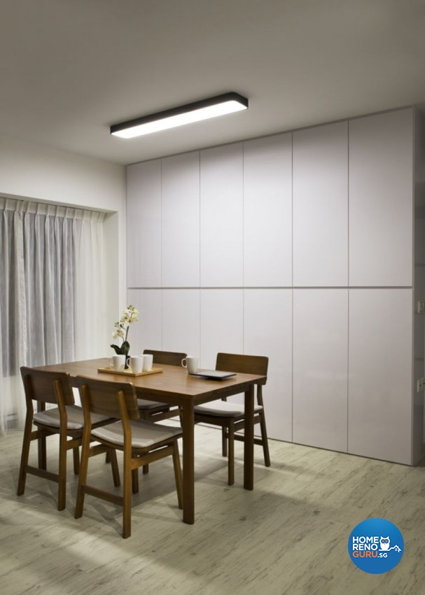 Contemporary Design - Dining Room - HDB 3 Room - Design by form & space pte ltd