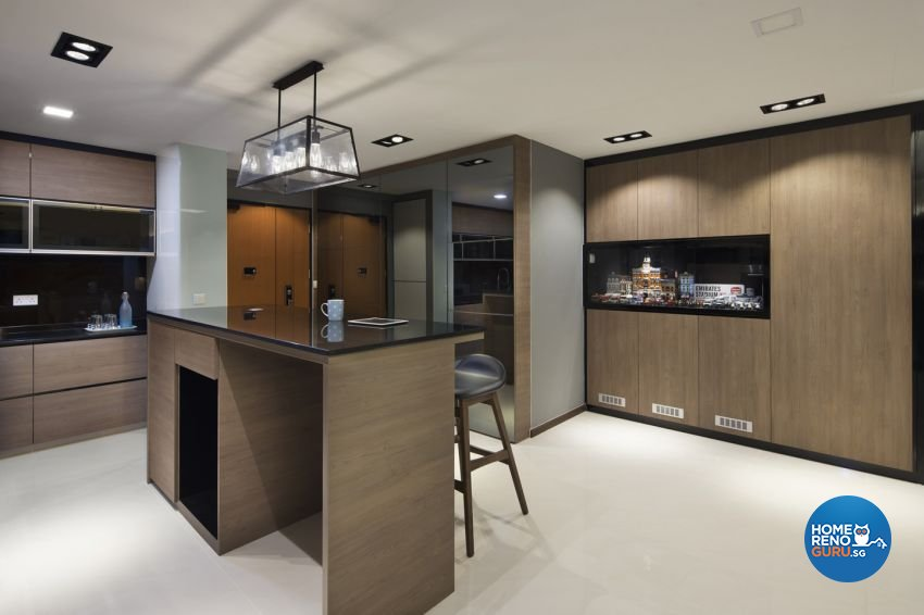 Contemporary Design - Dining Room - HDB 5 Room - Design by form & space pte ltd