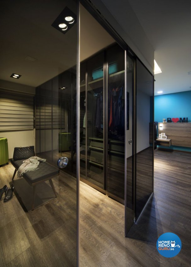 Contemporary Design - Bedroom - HDB 5 Room - Design by form & space pte ltd