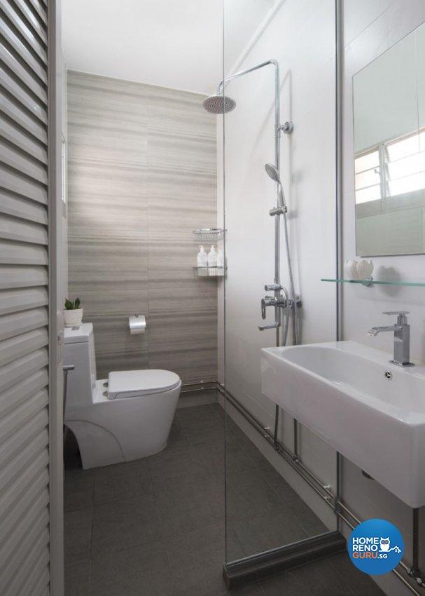 Minimalist, Scandinavian Design - Bathroom - HDB 5 Room - Design by form & space pte ltd