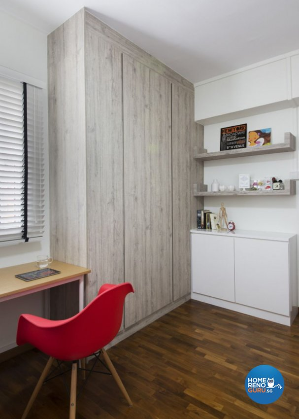 Minimalist, Scandinavian Design - Bedroom - HDB 5 Room - Design by form & space pte ltd