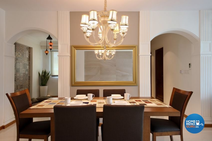 Classical, Modern Design - Dining Room - HDB 5 Room - Design by form & space pte ltd