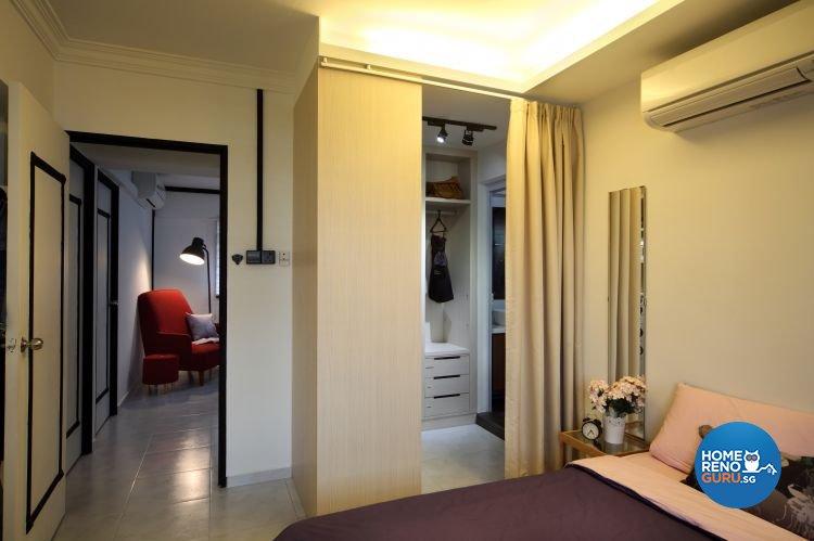Contemporary, Scandinavian Design - Bedroom - HDB 4 Room - Design by form & space pte ltd