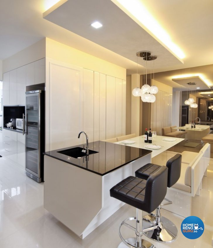 Contemporary, Modern Design - Dining Room - Landed House - Design by form & space pte ltd