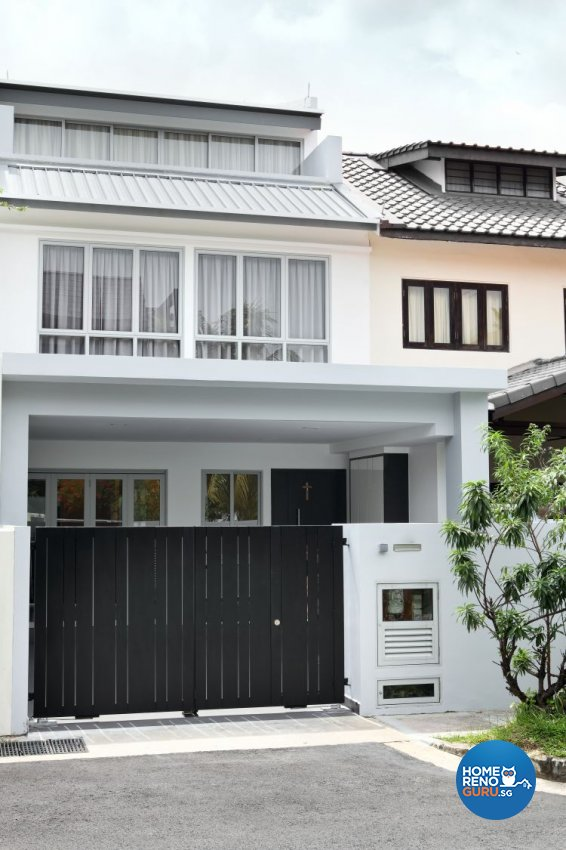 Contemporary, Modern Design - Garden - Landed House - Design by form & space pte ltd
