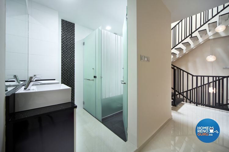 Contemporary, Modern Design - Bathroom - Landed House - Design by form & space pte ltd