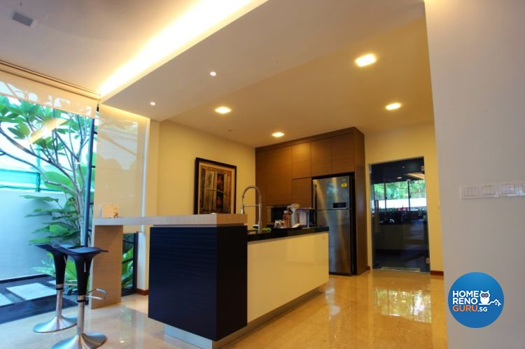 Contemporary, Modern Design - Kitchen - Landed House - Design by form & space pte ltd