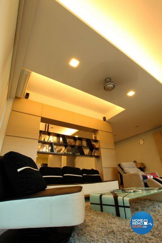Contemporary, Modern Design - Living Room - Landed House - Design by form & space pte ltd