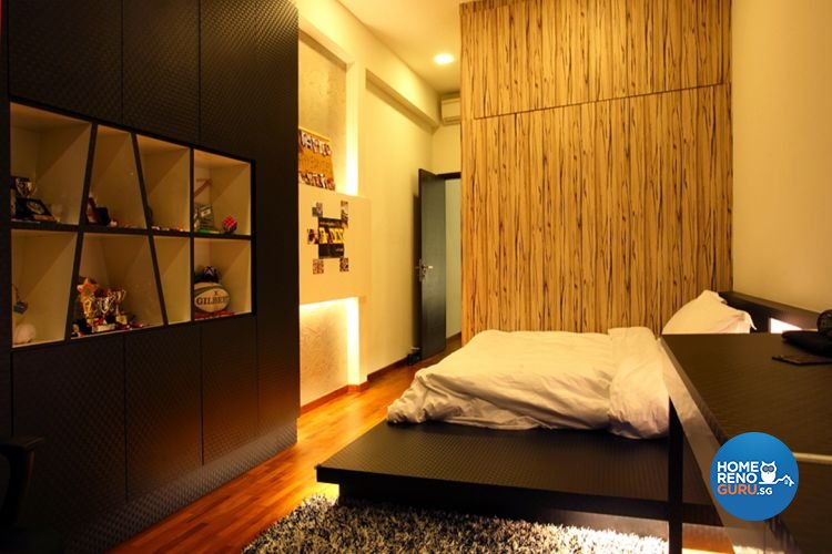 Contemporary, Modern Design - Bedroom - Landed House - Design by form & space pte ltd